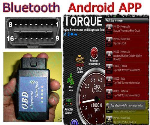 ELM327 v1 5 Bluetooth OBD2 OBDII Scanner Android torque